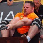 Sterkste Man van Nederland wedstrijd met Teun Moors