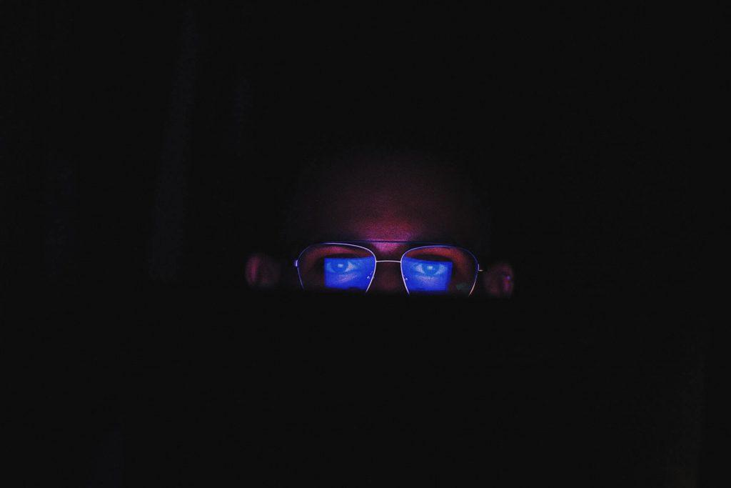 blauw licht filter bril